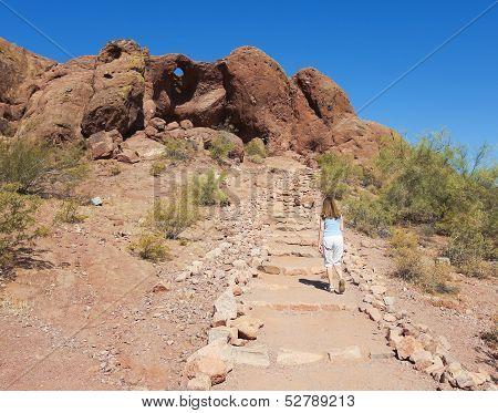 A Hole In The Rock Shot, Phoenix