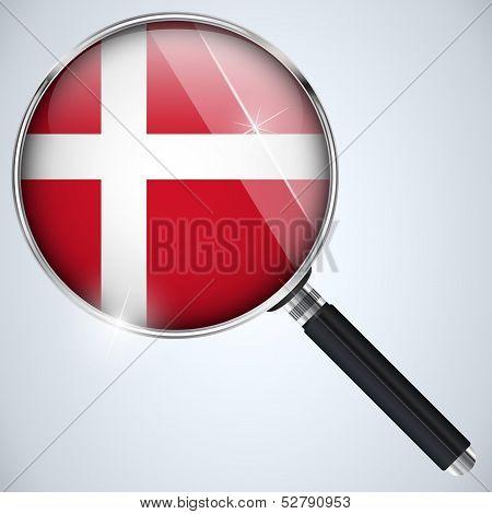 Nsa Usa Government Spy Program Country Denmark