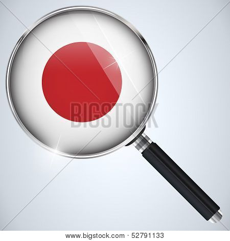 Nsa Usa Government Spy Program Country Japan