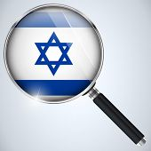 Vector - NSA USA Government Spy Program Country Israel poster