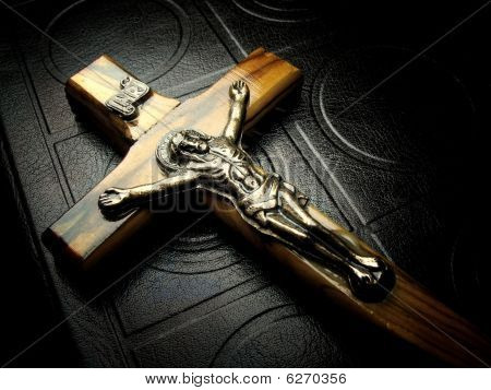 The Bible And Crucifix