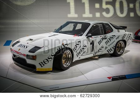 STUTTGART, GERMANY - CIRCA APRIL, 2014: Porsche Museum. PORSHE 924 GTP (1981)