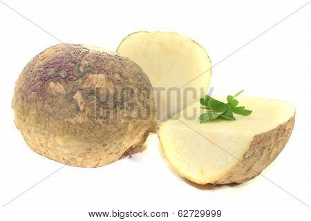 Turnip With Parsley