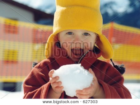 Eating Snow