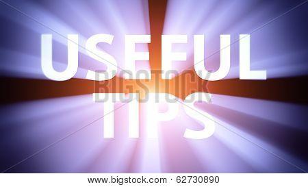 Illuminated Useful Tips