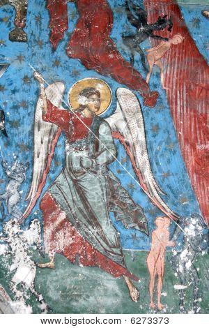 The Archangel with spear