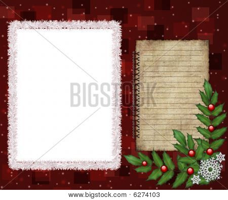 Greeting picture frame