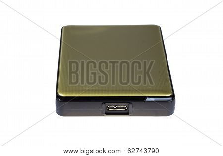 External Harddisk With White Background