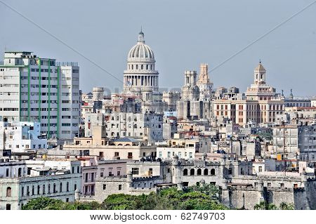 A city view of Havana