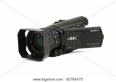 Sony Ax100 Prosumer 4K Video Camera