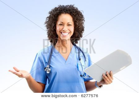 Smiling Medical Nurse