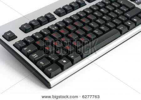 Teamwork Profit Ideas Keyboard Written In Red