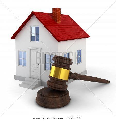 House Auction Concept
