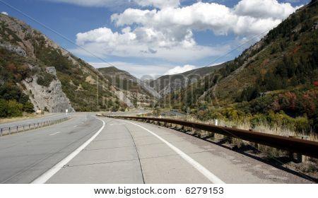 Provo Canyon road, Utah
