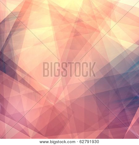 Abstract polygonal background, Abstract geometric background. Template for style design. poster