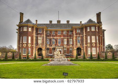 LONDON, RICHMOND UK - APRIL 05, 2014  Richmond duke house, 17th century mansion with park, one of Eu
