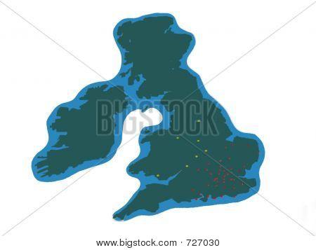 Shape Of Uk/United Kingdom