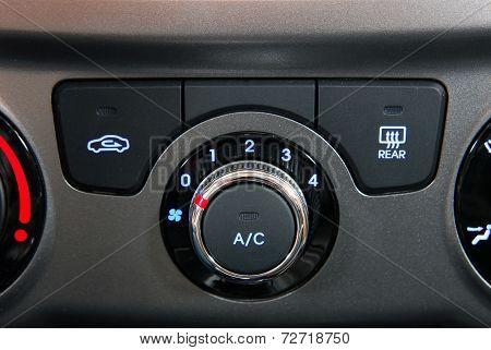 manual switch board in the car