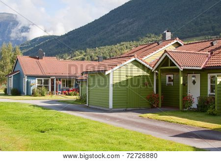 Colourful Wooden Houses