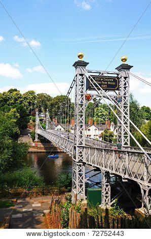 Dee suspension bridge, Chester.