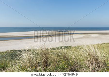 Beach At Maasvlakte Rotterdam