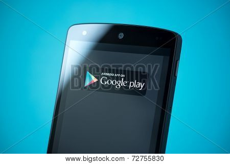 Google Play Sign On Google Nexus 5