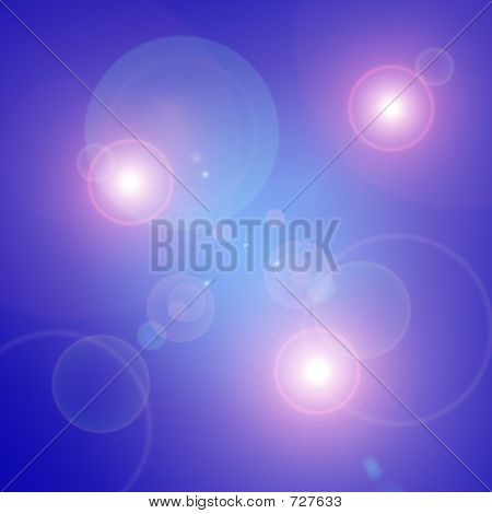 Abstract spot lights poster