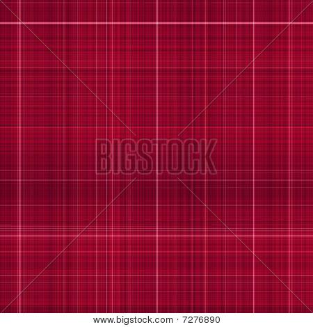 Deep Red Tartan Cloth