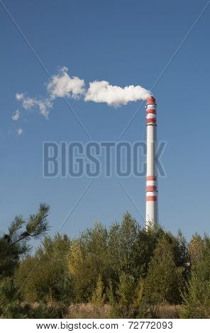 Chimney Pollution.