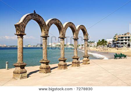 Los Arcos Amphitheater In Puerto Vallarta, Mexico