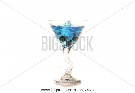 Blueberry Martini Splash