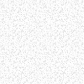 White hand drawn pattern with random splattered silver dots for Christmas and holiday decor or wedding invitation background. Seamless vector texture for winter fashion poster