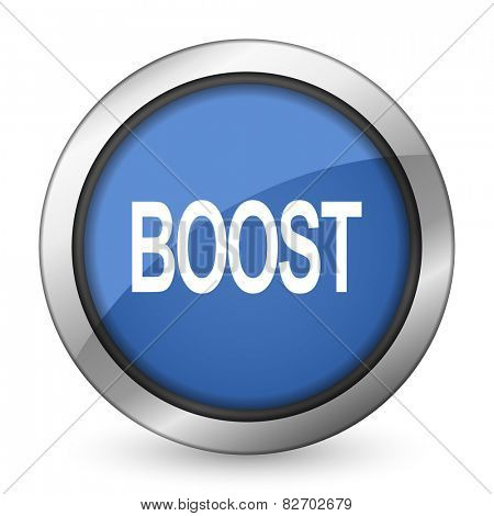 boost icon   poster
