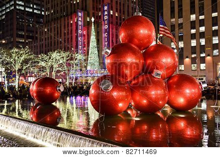Christmas Decorations, New York