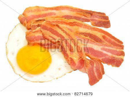 Fried Egg And Bacon Rashers