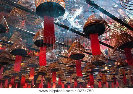 Man Mo Temple, Hong Kong.