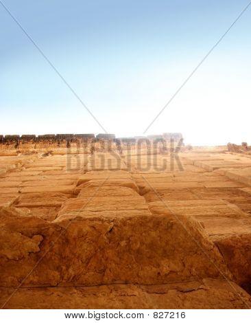 High Ancient Wall