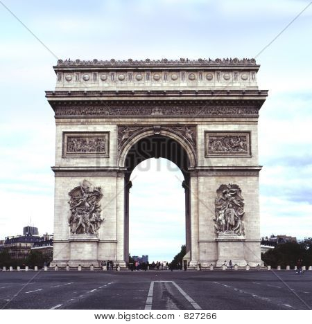 straight on triomphe