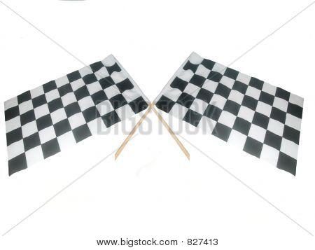 Crossed Raceing Flags
