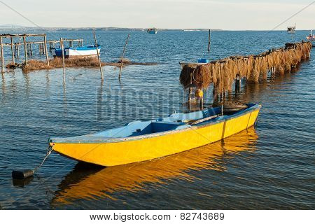 Boats In Greece