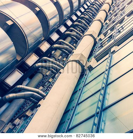 Exterior Details Of Lloyds Building