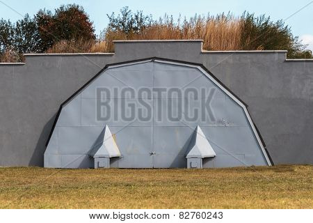 Military Hangar For Aircraft