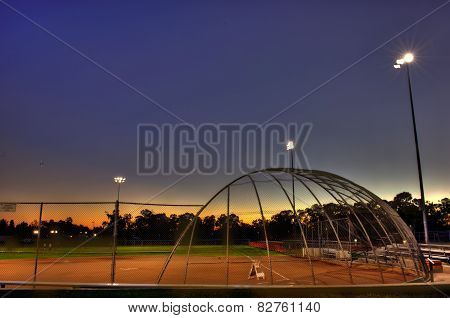 Softball field reserved