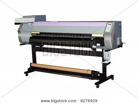 Large format inkjet printer