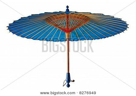 Vintage traditional japanese parasol