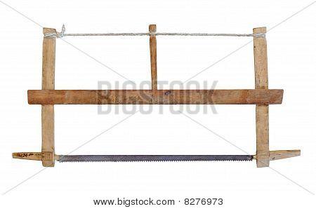 Old carpenter saw