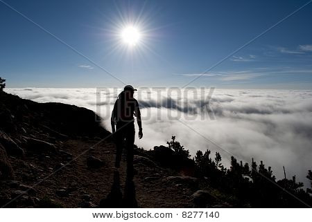 Early morning Hiker