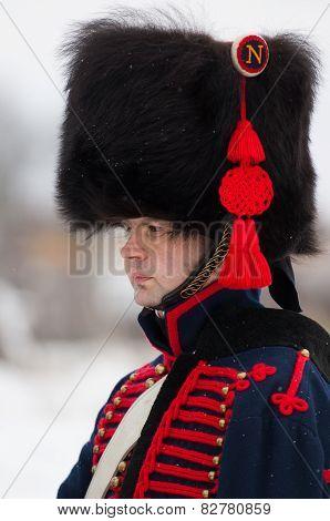 Russian Musketeer Portrait