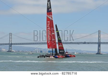 America's Cup, the Team New Zealand