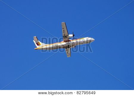Iberia ATR 72 Aeroplane.